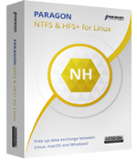 Microsoft NTFS for Linux by Paragon Software